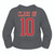 Sublimated Hoodie - Red Foxes Grey