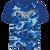 FCS Dry Fit Camo Shirt - Blue