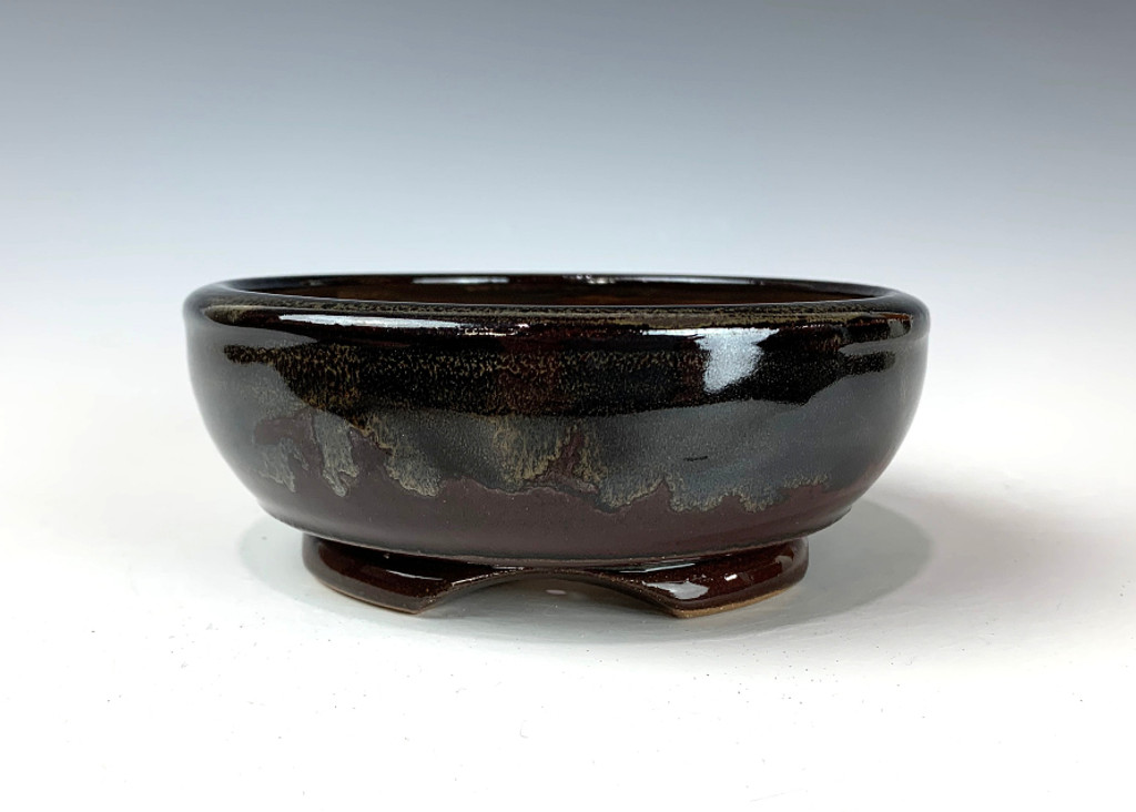 "Bonsai Pot, 5 3/8"" dia 20724"