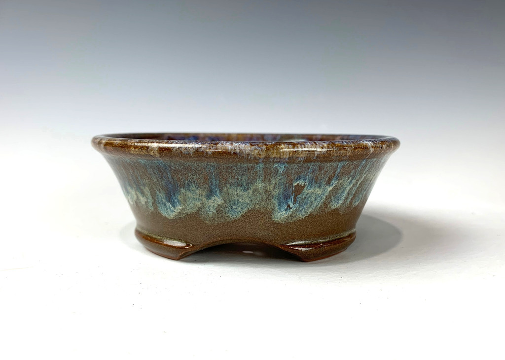 "Bonsai Pot, 5 1/4"" dia 20792"
