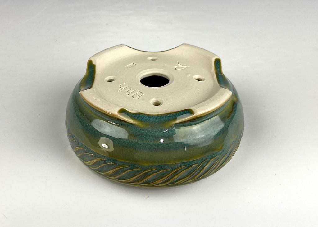 """Bonsai Pot, 4 3/8"""" dia 21448"""
