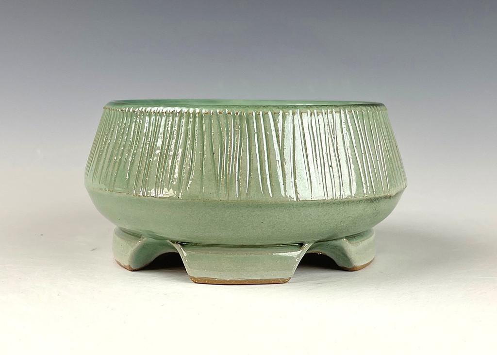 """Bonsai Pot, 4 3/4"""" dia 21668"""