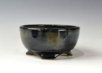 """Bonsai Pot, 4 3/4"""" dia 20237"""