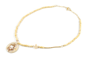 Necklace Gold detail and Chirilla