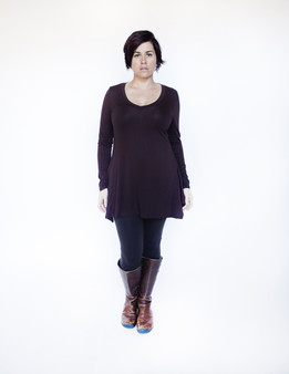 Fall Tunic - Brown