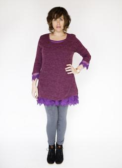 Charlotte Dress - Purple