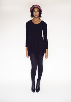 Fall Tunic - Black