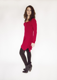 Fall Tunic - Red