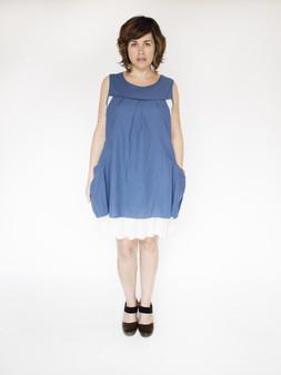 Ariana Dress - Blue