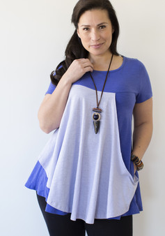 Lola Tunic - Blue