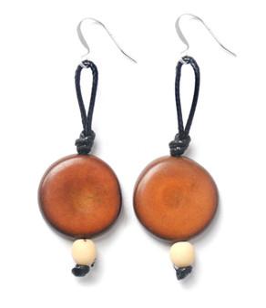 CicloVia Earring – Brown