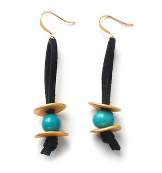 Meteor Shower Earrings –Blue