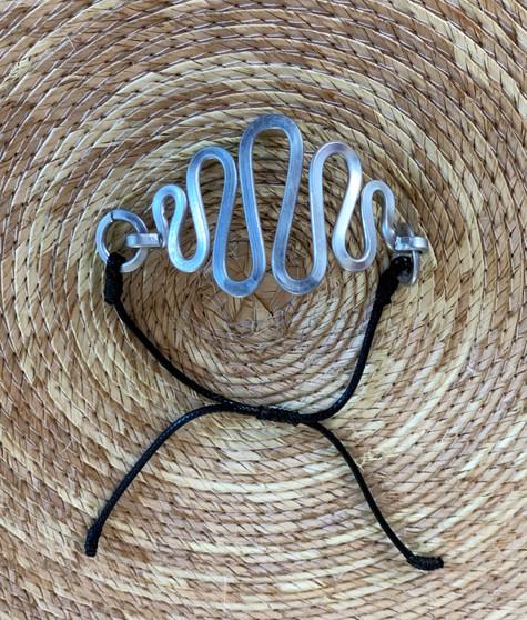 Waves Aluminum Bracelet