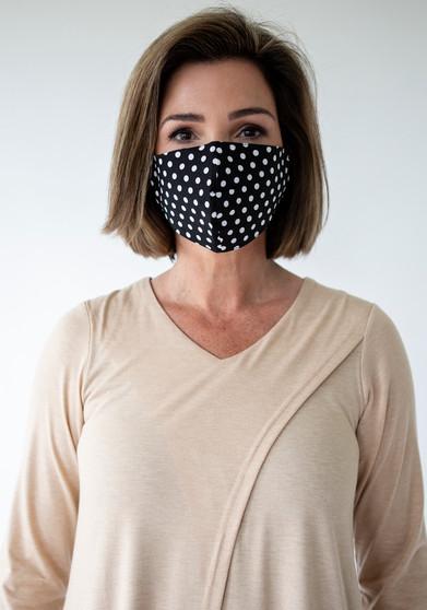 Face Mask - Polka Dots