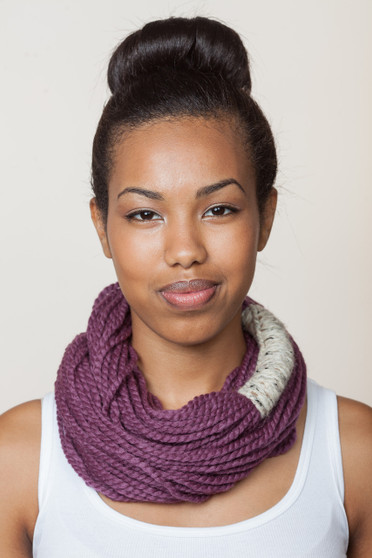 Bora Scarf  - Fig