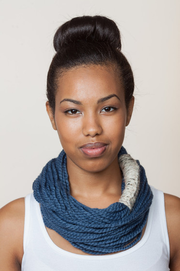 Bora Scarf - Denim