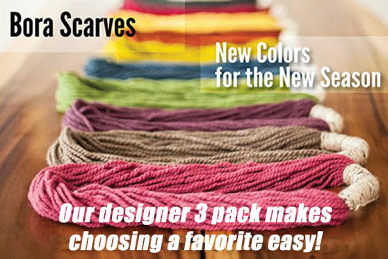 Bora Scarf - Designer Three Pack