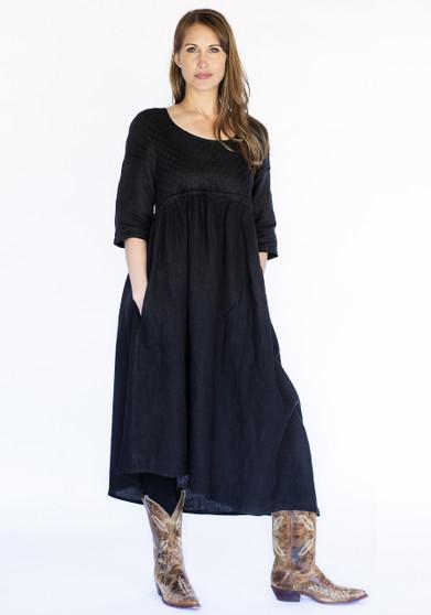 Mona Lisa Dress - Black