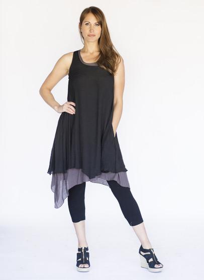 Wabi Sabi Dress - Black