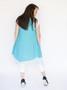 Wabi Sabi Dress - Aqua Blue