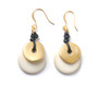 Moon Eclipse Earrings – Natural