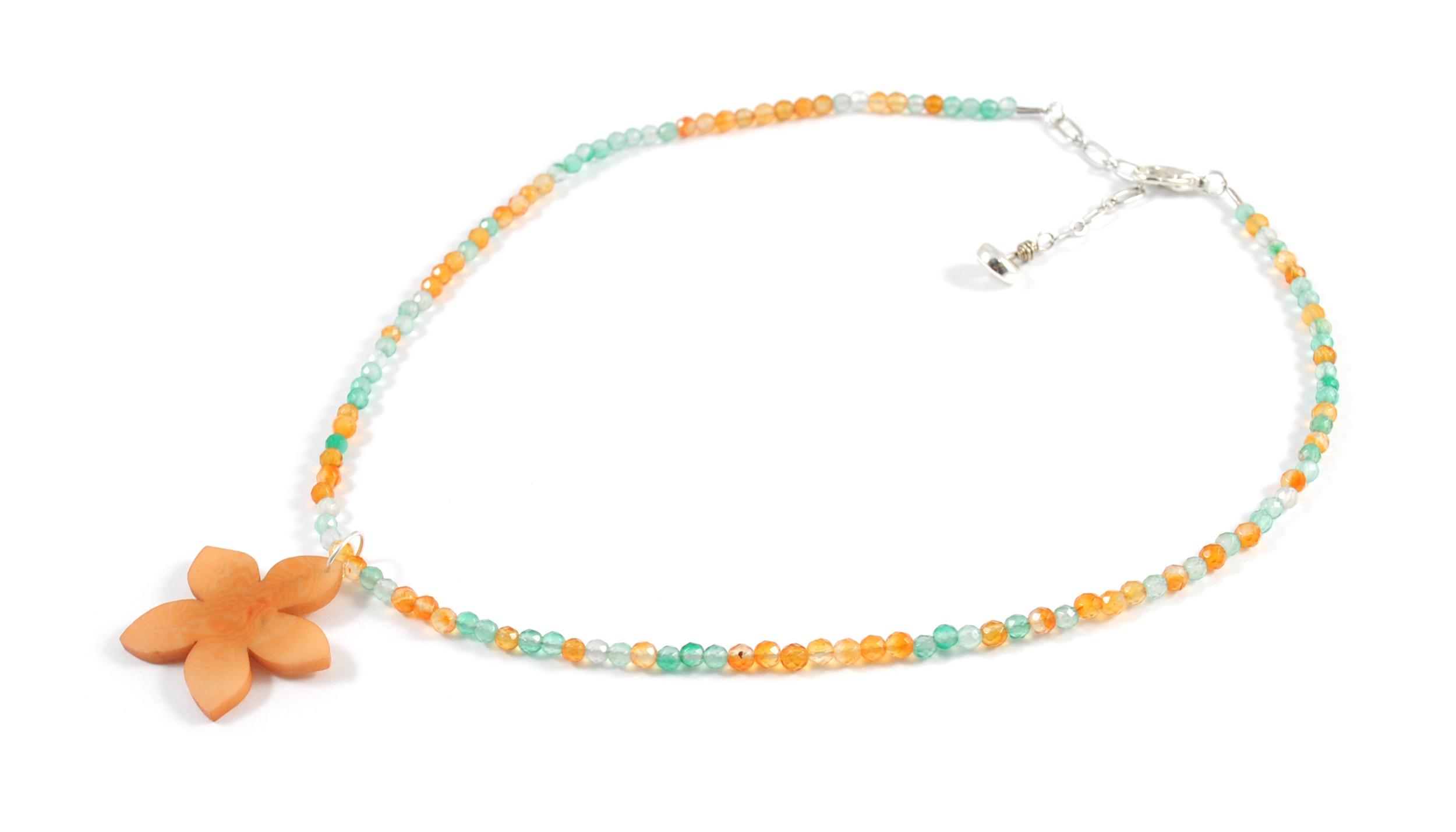 Necklace Semi Precious stone