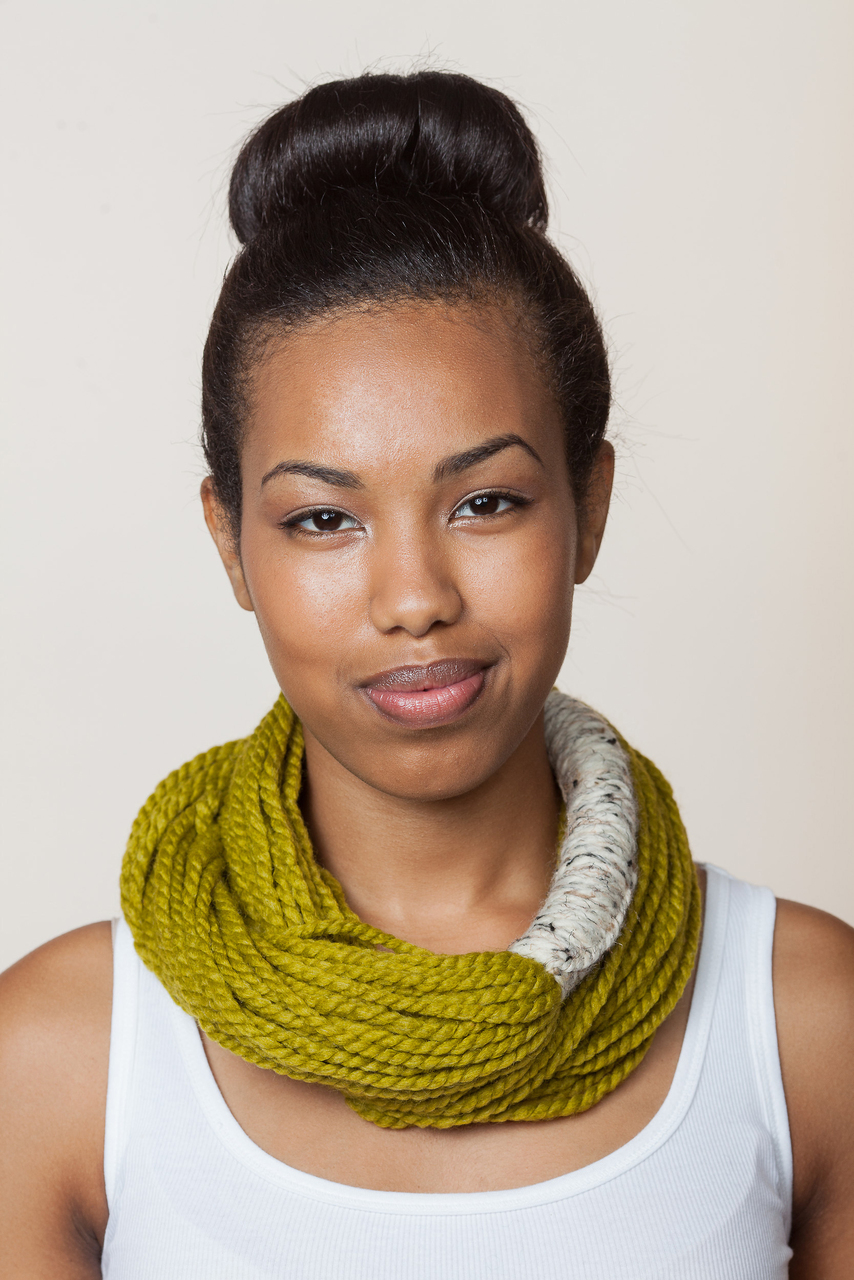 Bora Scarf  - Lemon Grass