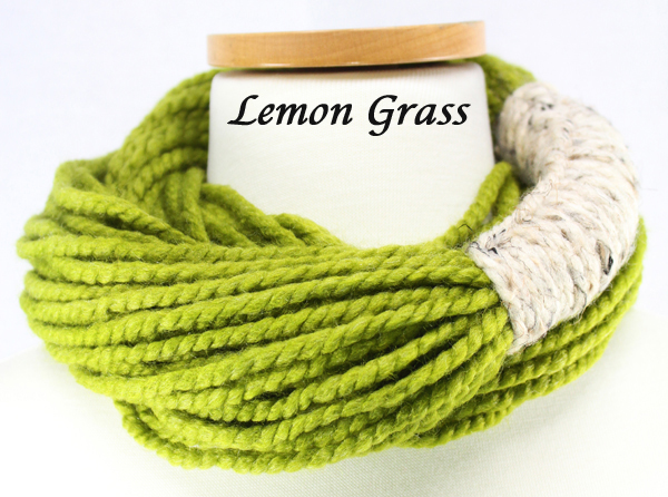 Bora Scarf 䋢 - Lemon Grass