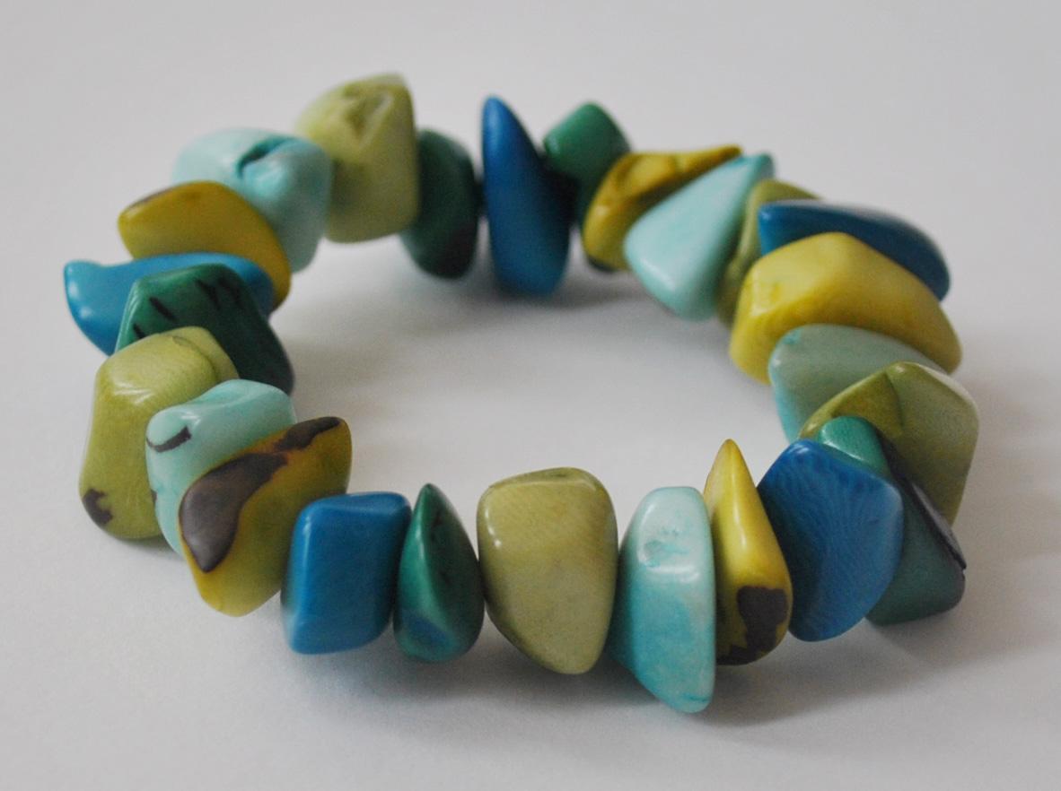 Urban Fossil Organic Bits Bracelet - Multi Cool