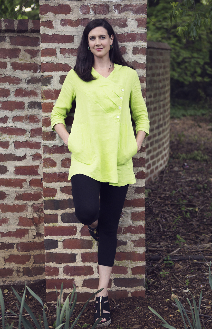 Mona Lisa Tunic - Kiwi Green