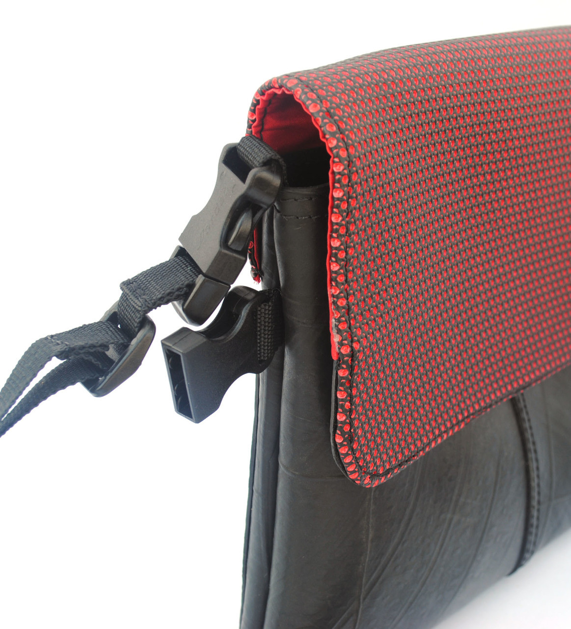 Optimus Small Crossbody Bag - Red