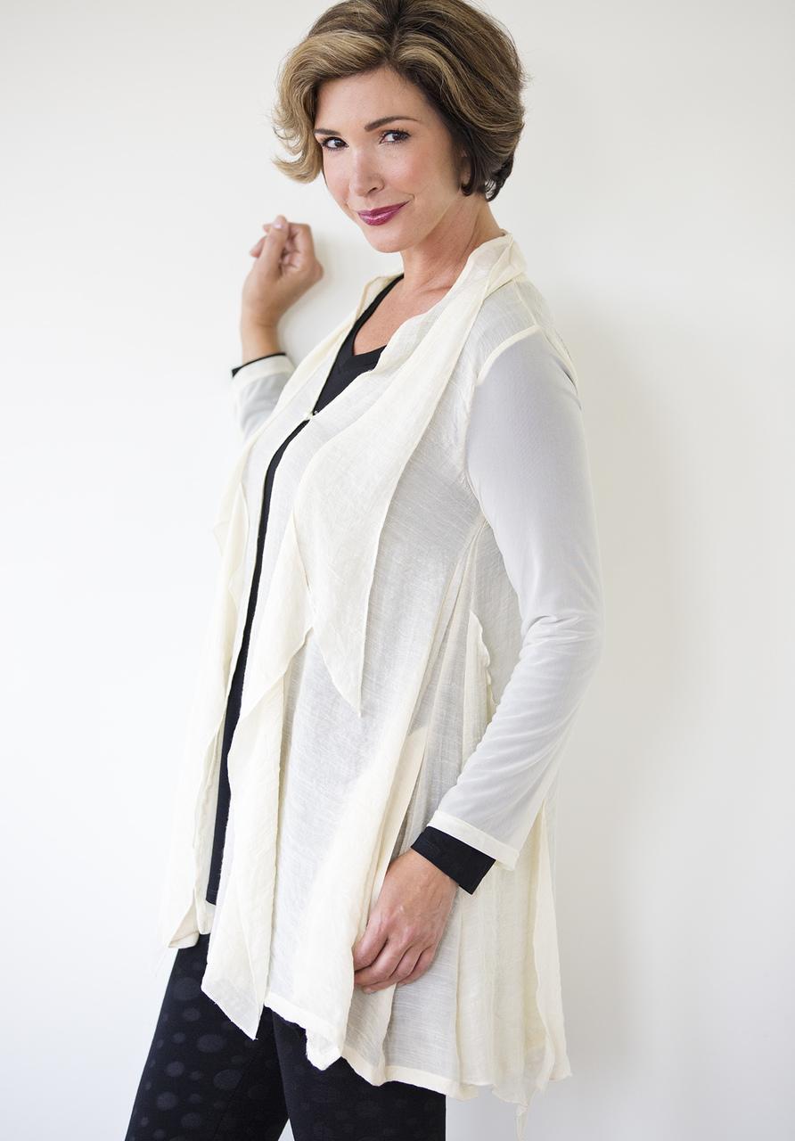 Sofia Cardigan - Winter White