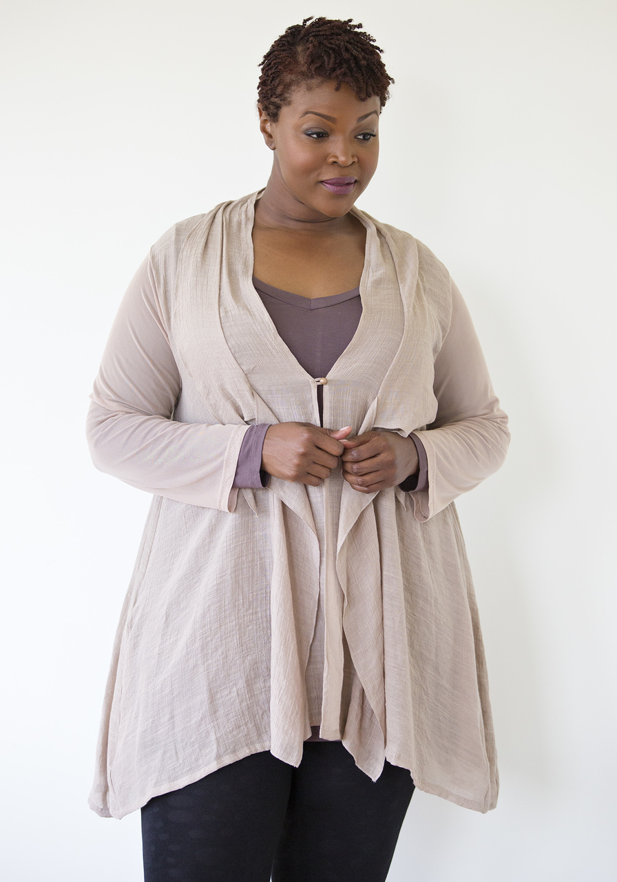 Sofia Cardigan - Brown
