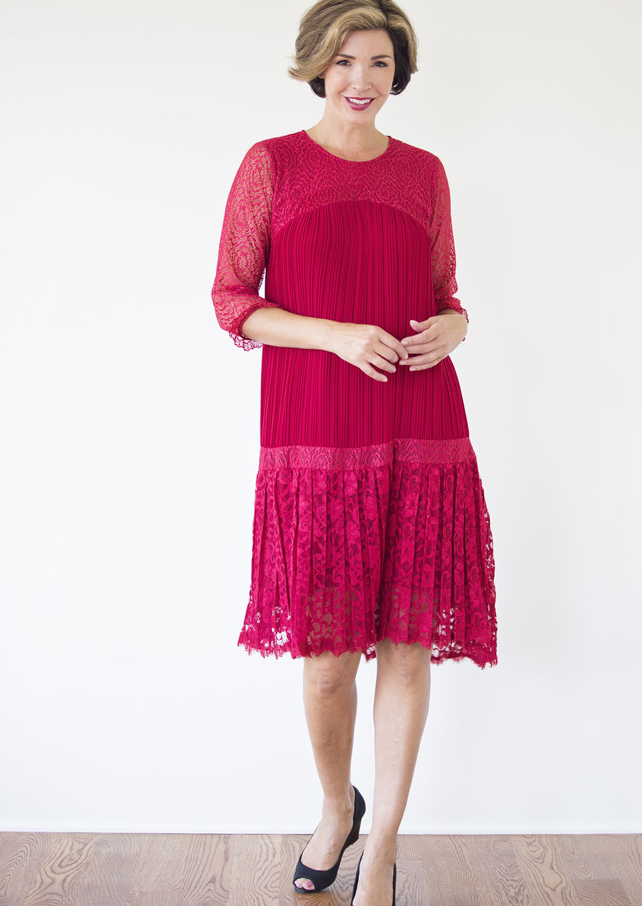 Paloma Dress - Red