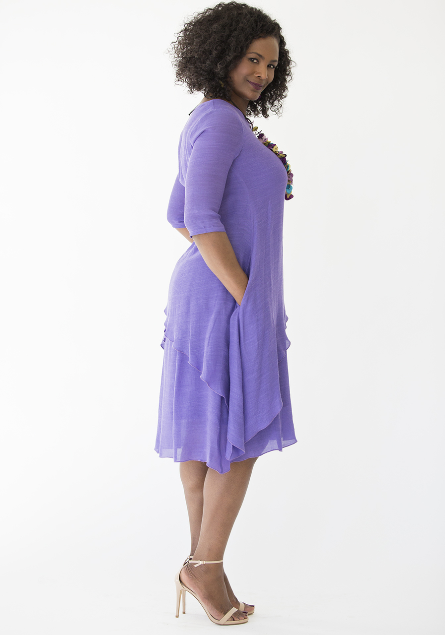 Athena Dress –Violet