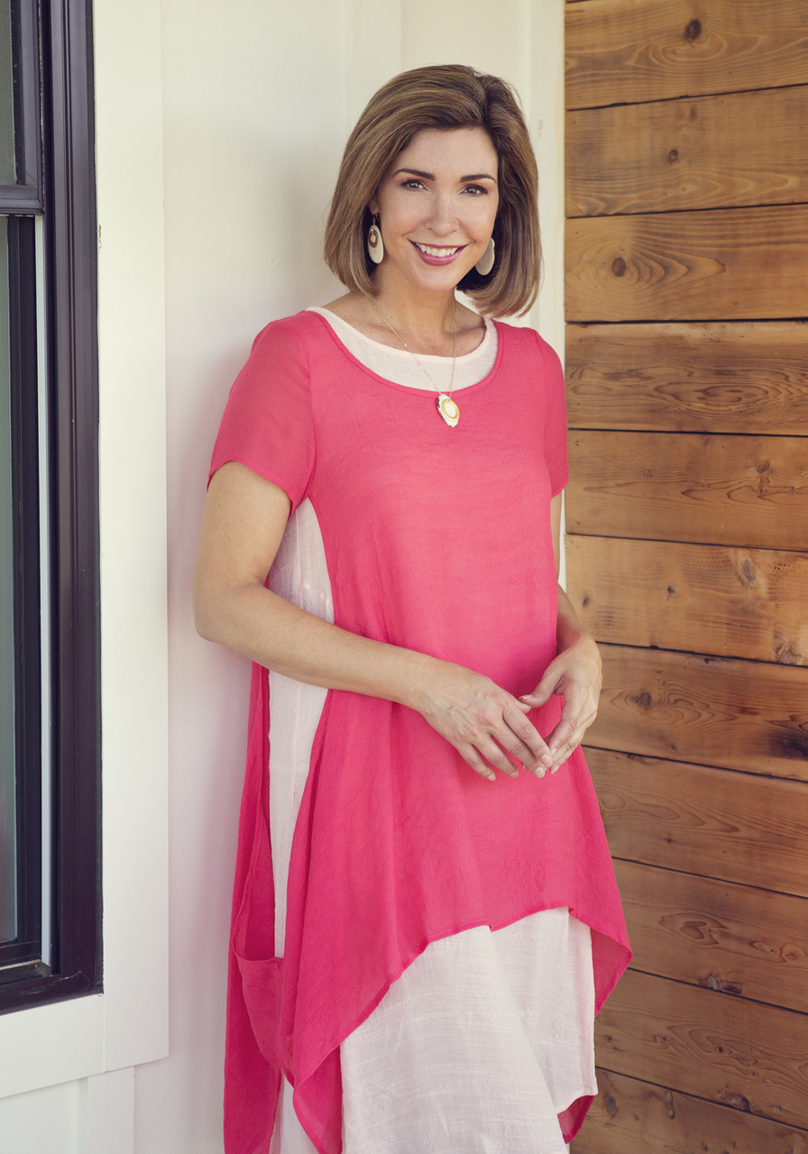 Sunday Morning Dress – Coral