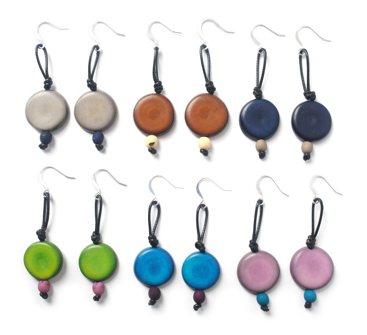 CicloVia Earring –Gray