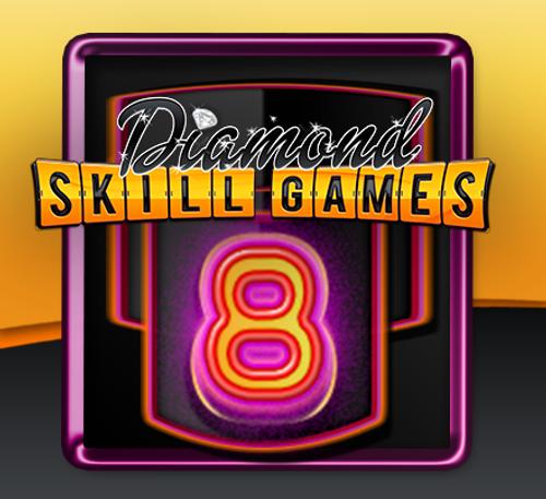 Diamond Skill 8 game board
