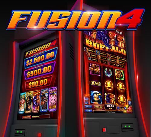 Fusion 4 skill game board