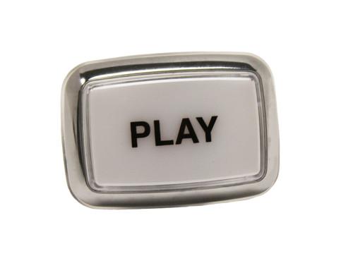 Chrome Bezel Play Button