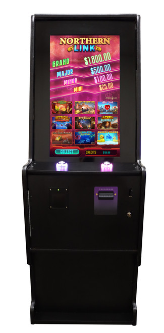 """32"""" Game Board Ready Wood Cabinet"""