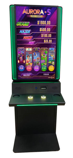 """Vertical 43"""" Cabinet with glow effect"""