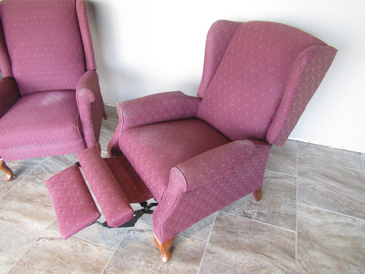 armchair recliners set of 2 1