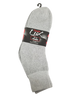 3 Pair Pack Double Lux Sports Ankle Socks Grey  - ANKPWHI