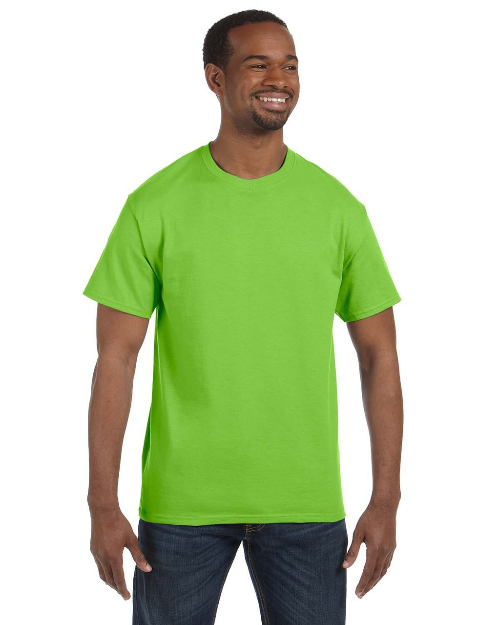 Gildan Mens Seamless Double Needle T-Shirt Maroon 4XL Pack of 5
