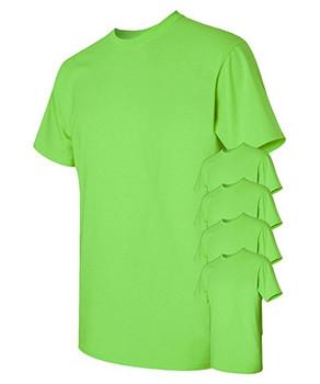 5 Pack - Heavy Cotton T-Shirt - Gildan 5000G- EZTMART.COM