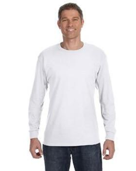 Gildan Heavy Cotton Adult 5.3 oz. Long-Sleeve T-Shirt- EZTMART.com