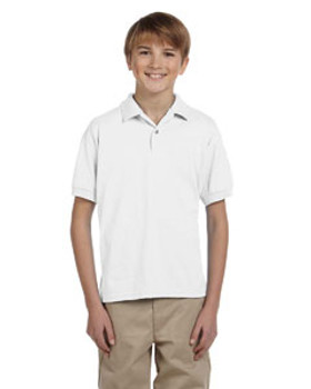 Gildan DryBlend® Youth 5.6 oz. 50/50 Jersey Polo
