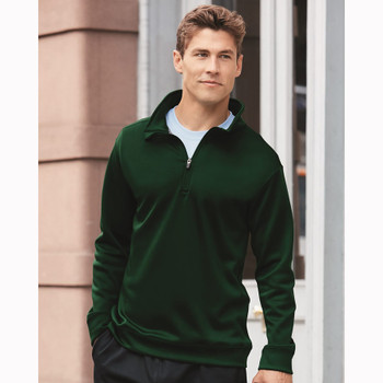 R Gildan Adult Performance® 7 oz. Tech Quarter-Zip Sweatshirt at EZ T- Mart