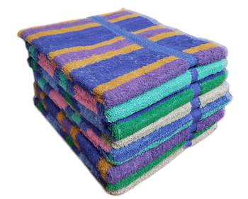 Yarn Dyed Bath Towels